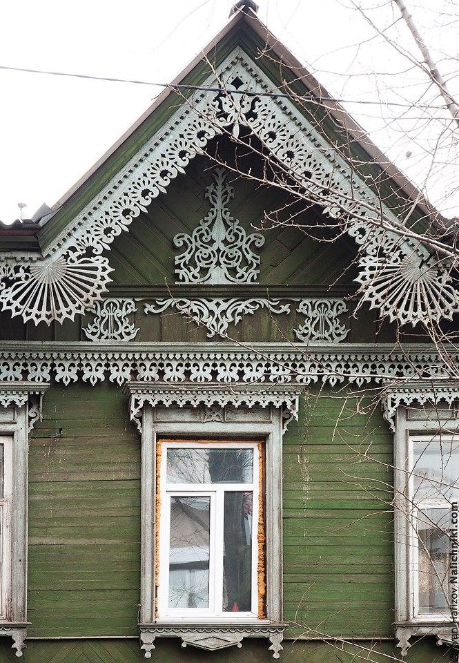 Резной наличник из Иркутска