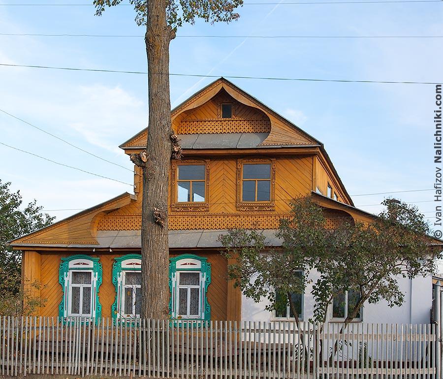 Деревянный дом из Чебоксар