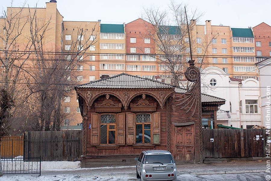 Деревянный дом в Чите