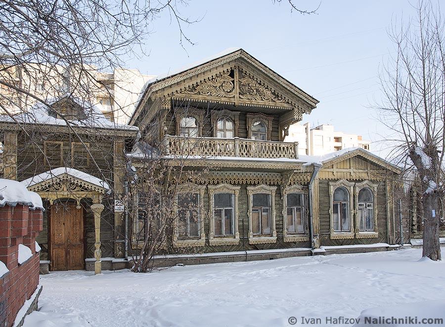 Деревянный дом в Екатеринбурге