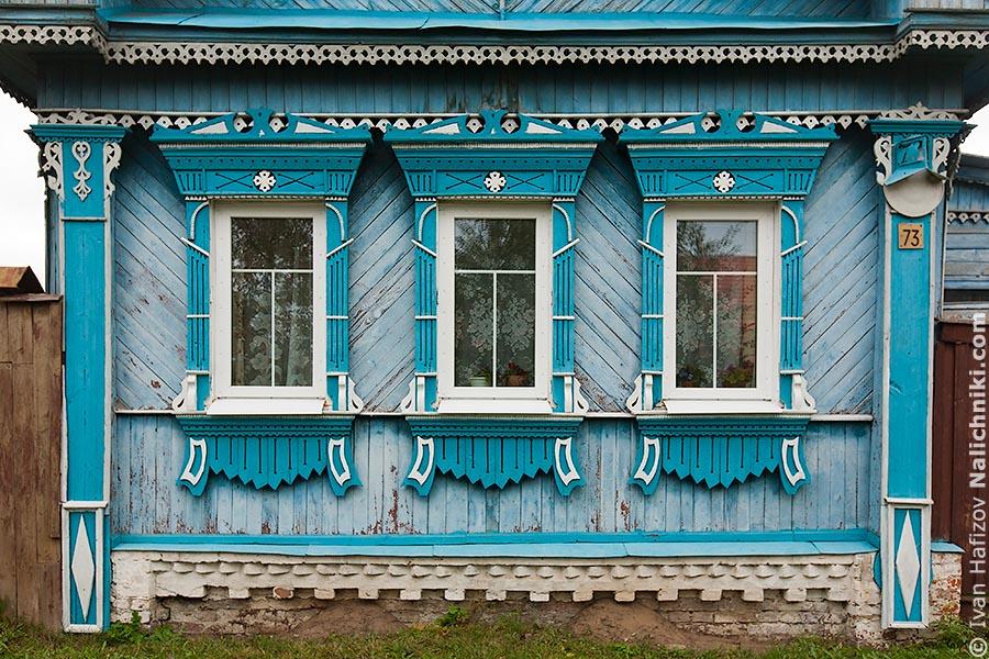 Ивановские оконные наличники