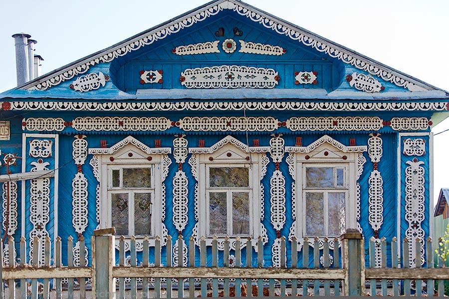 Традиционный русский деревянный дом
