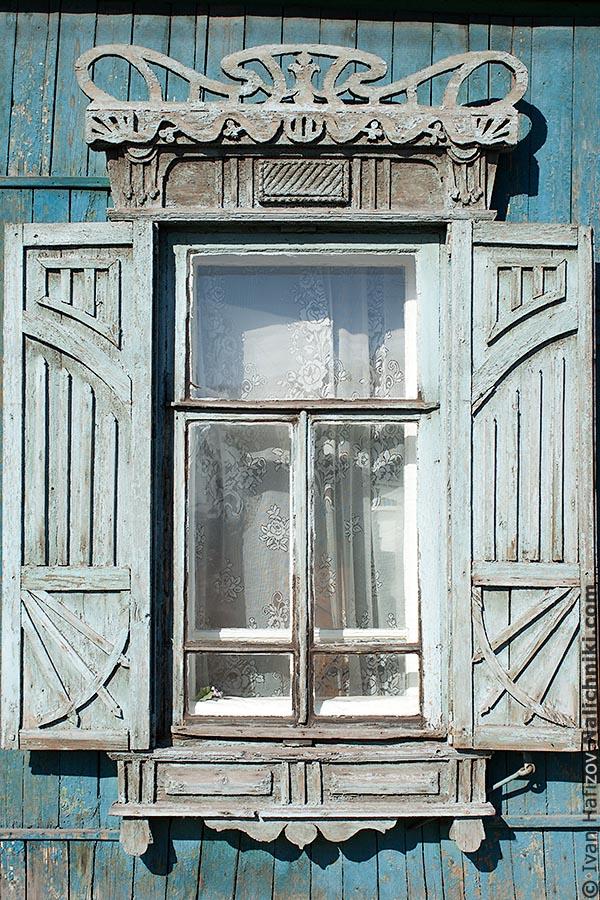 Деревянный наличник из Омска