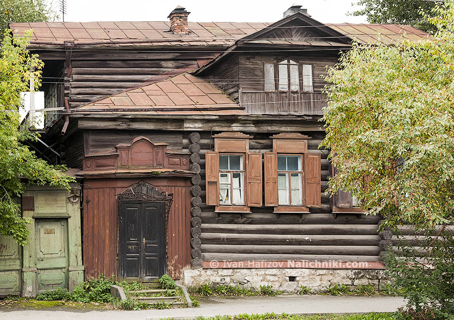 Wooden house, built in 19 century