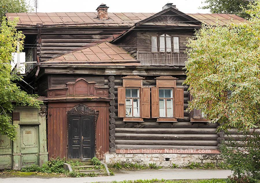 Деревянный дом постройки XIX века