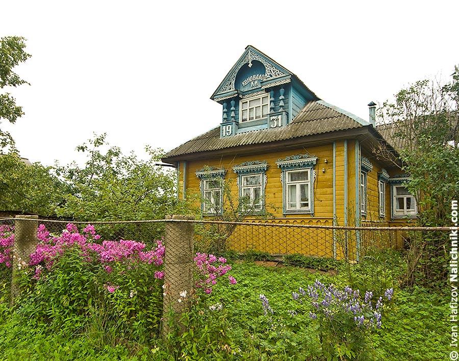 Красивый дом в Ярославской области