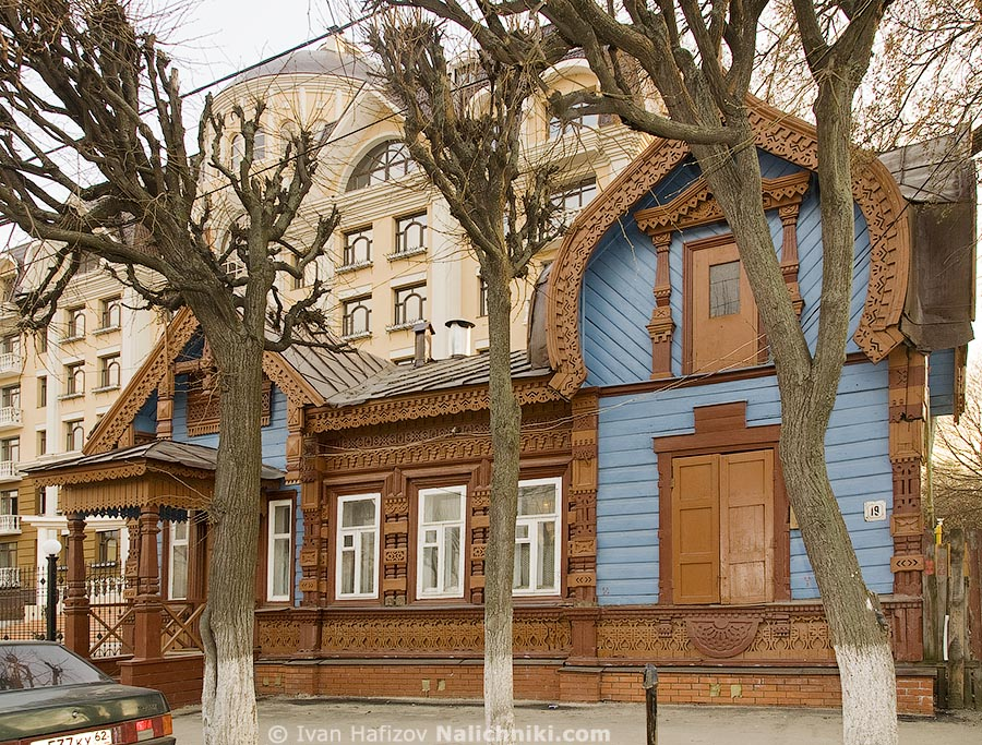Рязанский памятник деревянной архитектуры