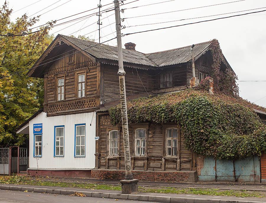 Тамбовский деревянный дом
