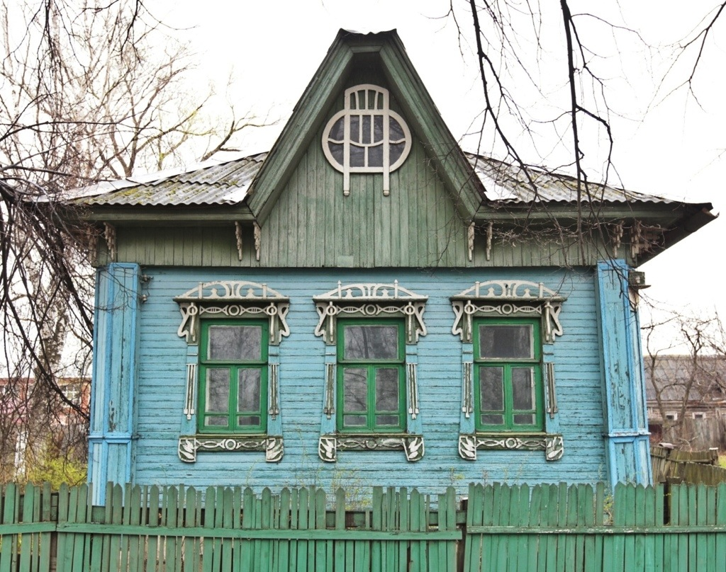 Small house in Yaroslavl in art nouveau