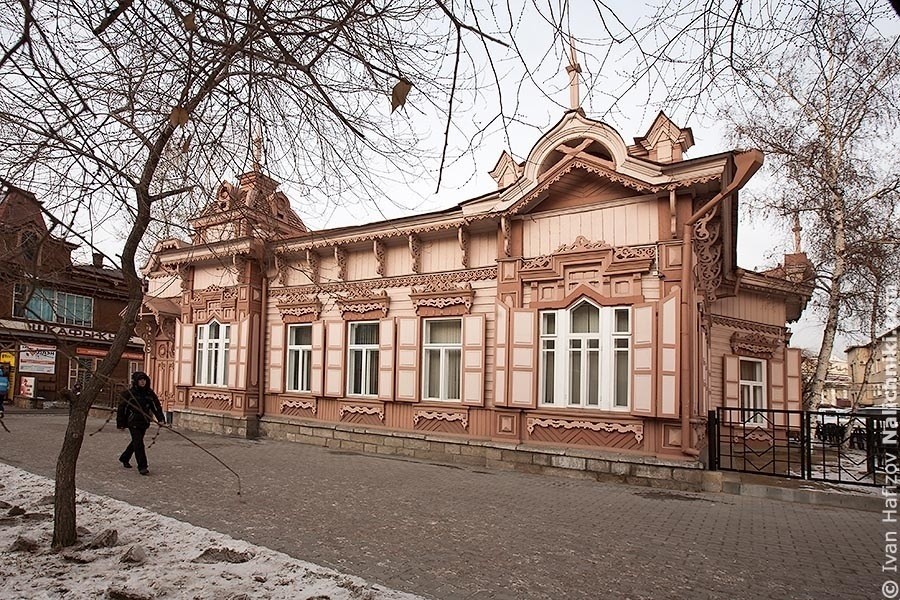 A Beutiful one-storied wooden house in Chita city