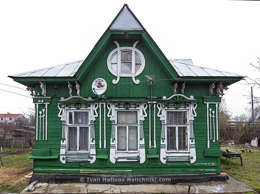 Деревянный дом в стиле модерн