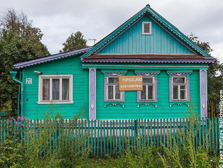 Продается деревянный дом во Владимирской области