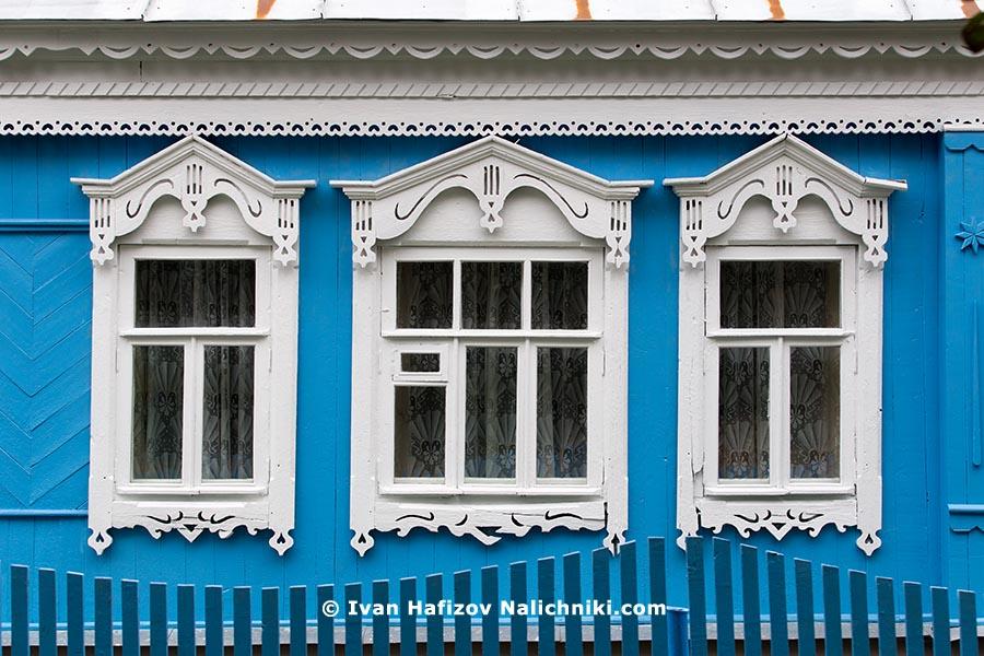 Три наличника из Бронниц Московской области