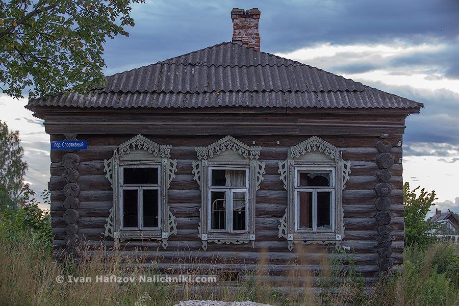 Изба с наличниками из Судогды Владимирской области