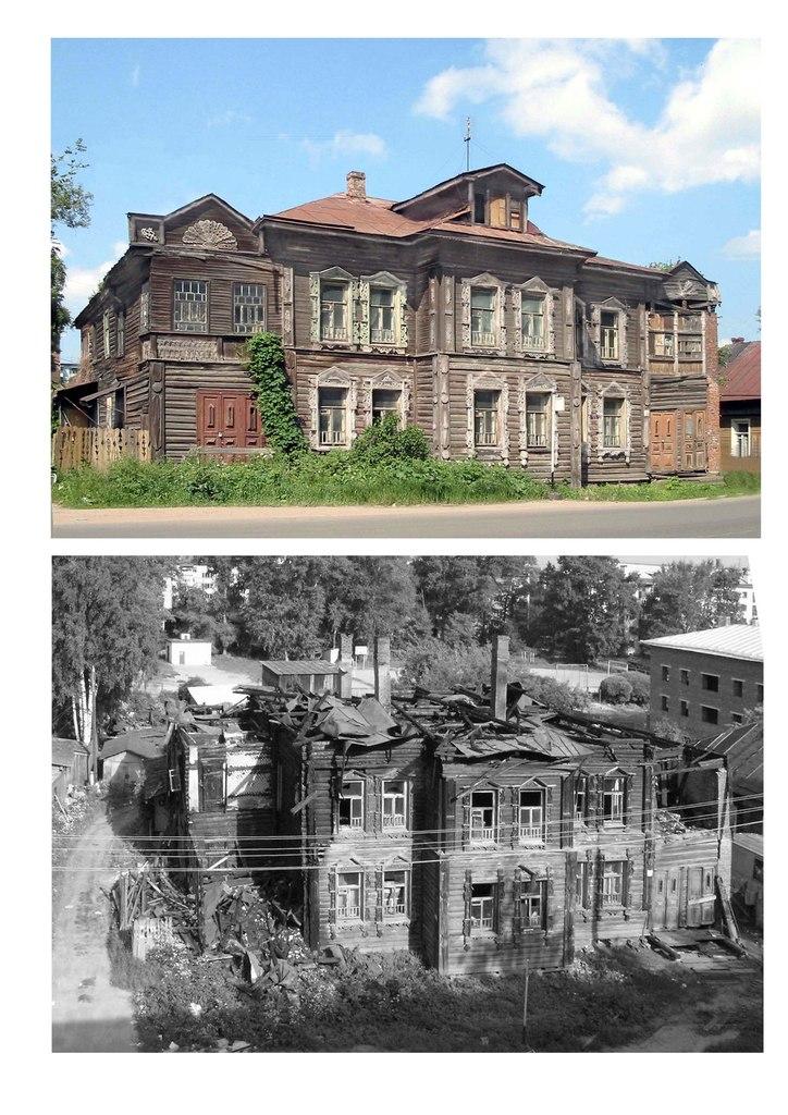 Дом Шахова в Вологде