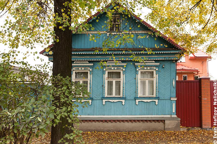 Резной деревянный дом из подмосковных Бронниц