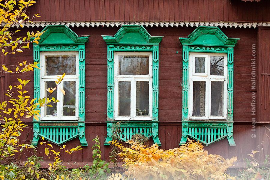 Традиционные русские наличники