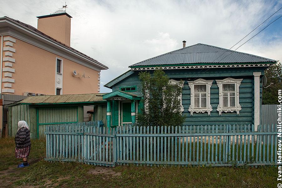 Резной деревянный дом в Выксе