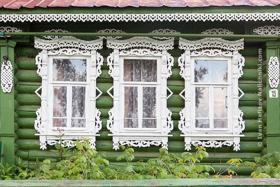 Три наличника из Кулебак Нижегородской области
