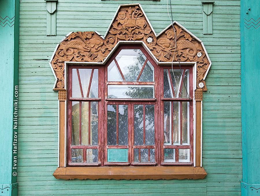 Наличник дома Пришлецова из Гороховца