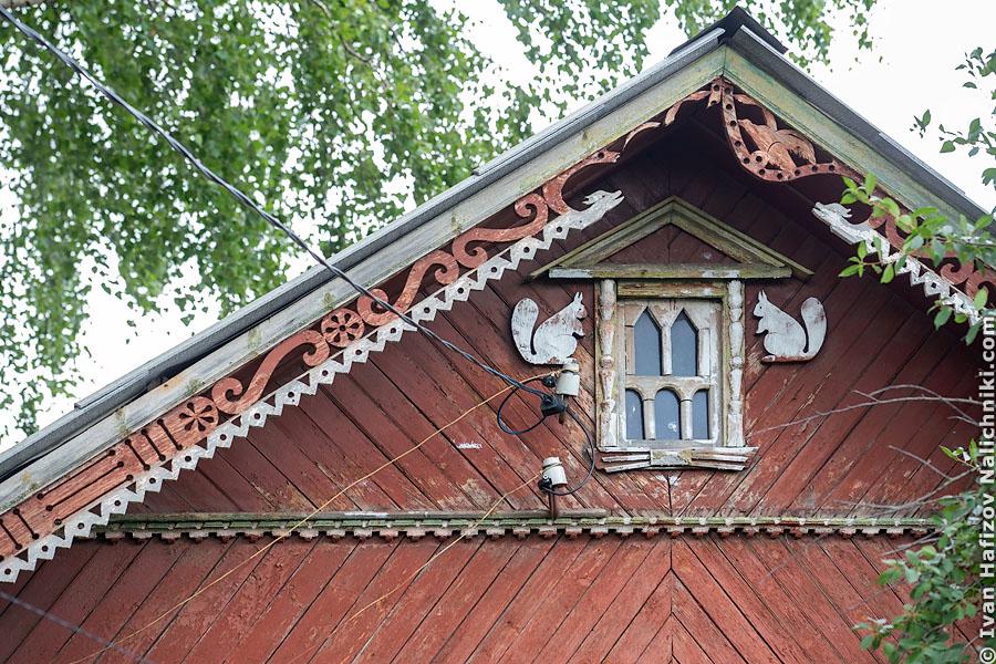 Подзоры — резные украшения под крышей деревянного дома