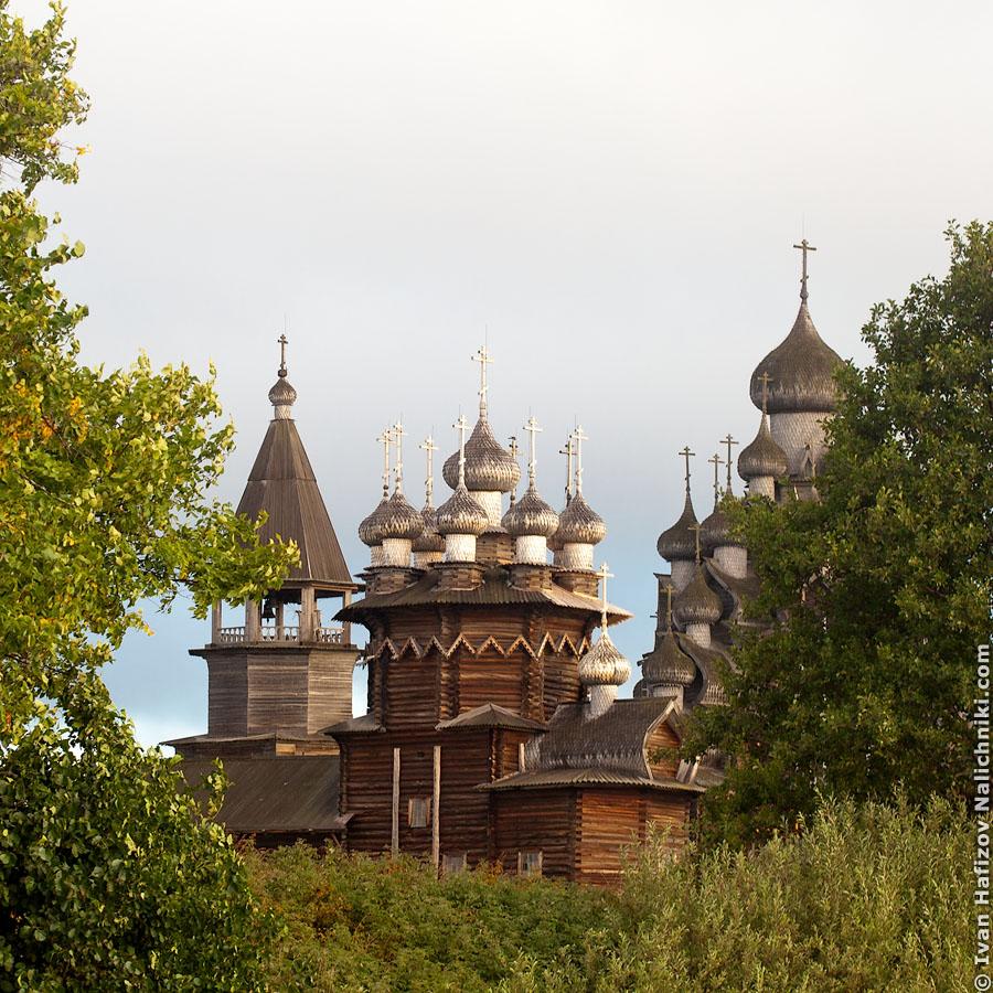 Деревянные купола Кижей