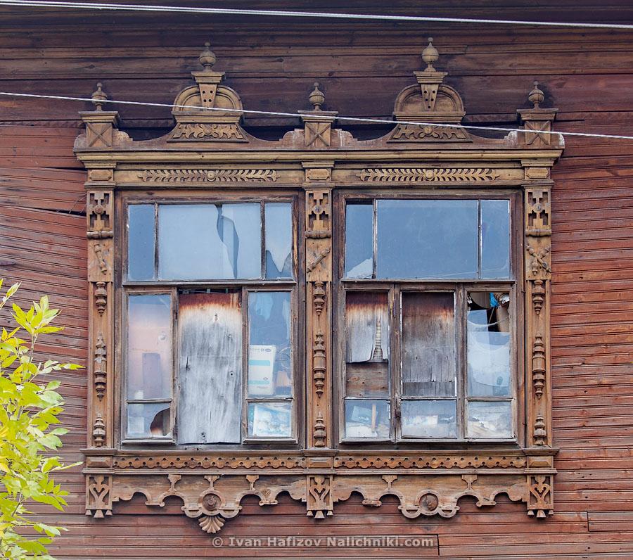 Традиционный русский наличник из Юрьевца Ивановской области
