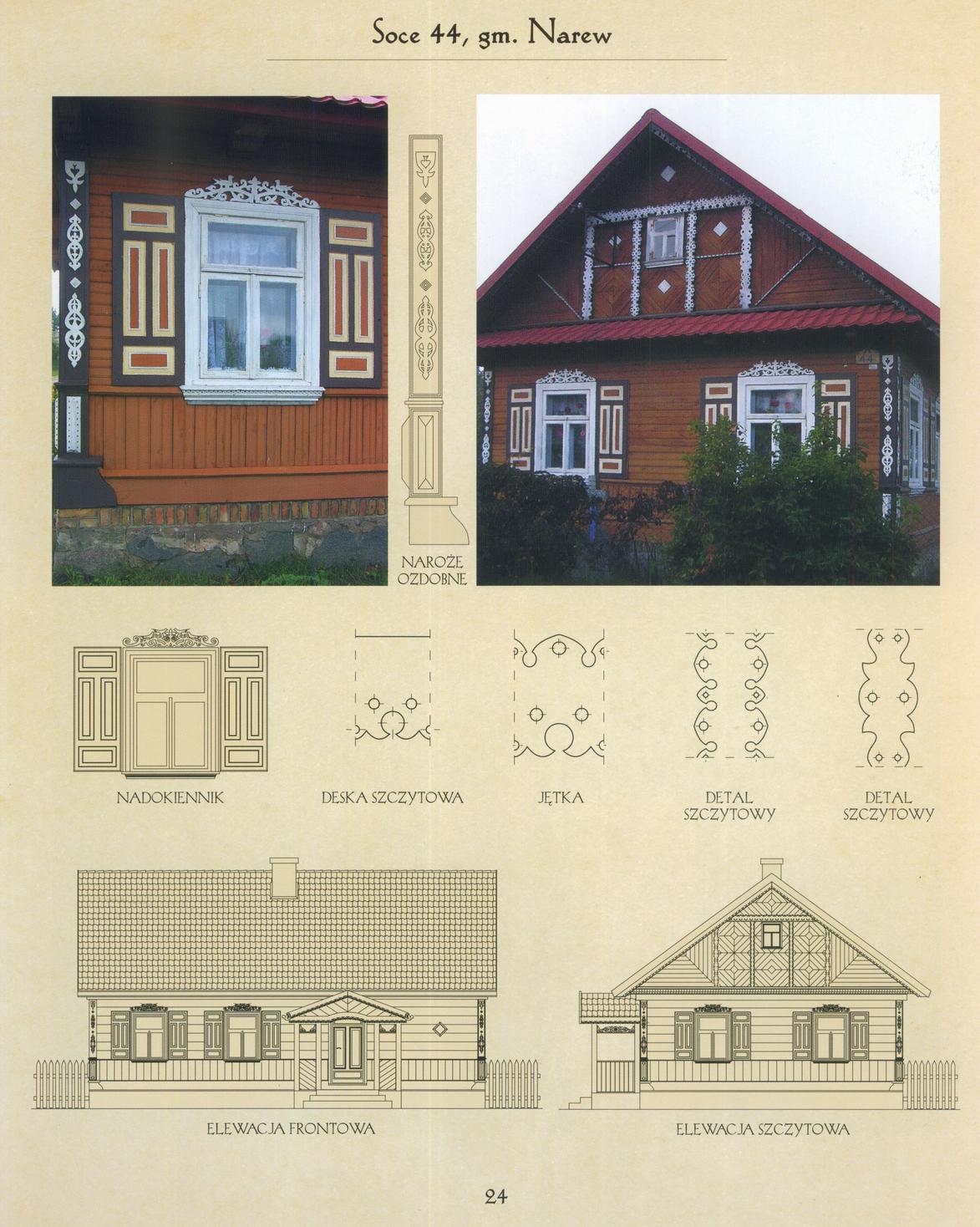 Zdobnictwo drewnianych budynków mieszkalnych