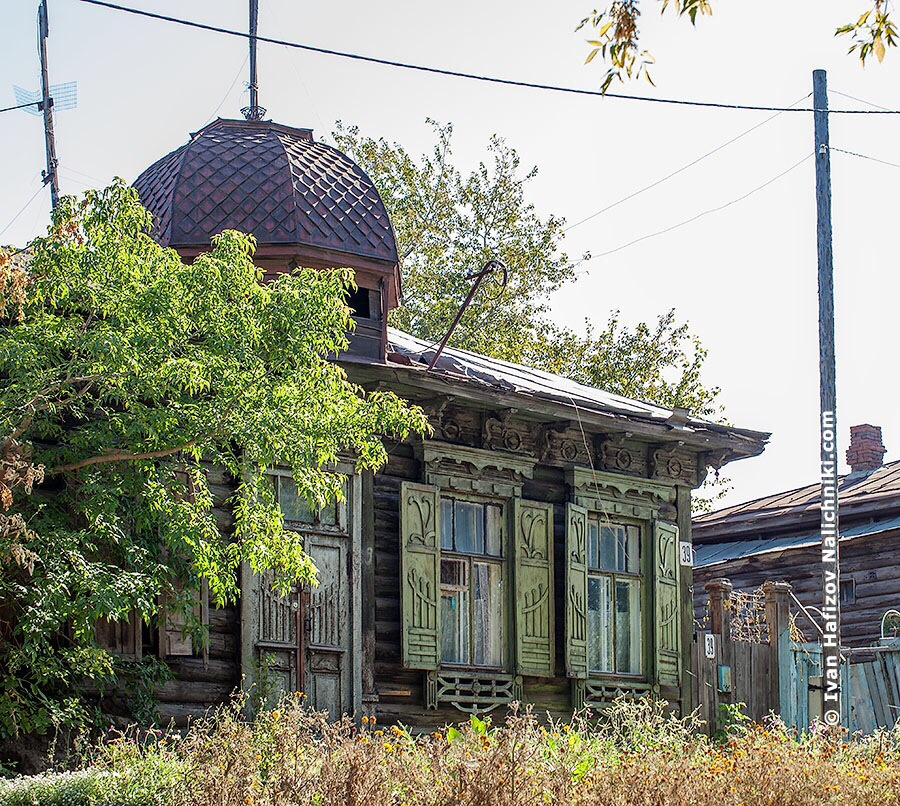 Омское деревянное зодчество