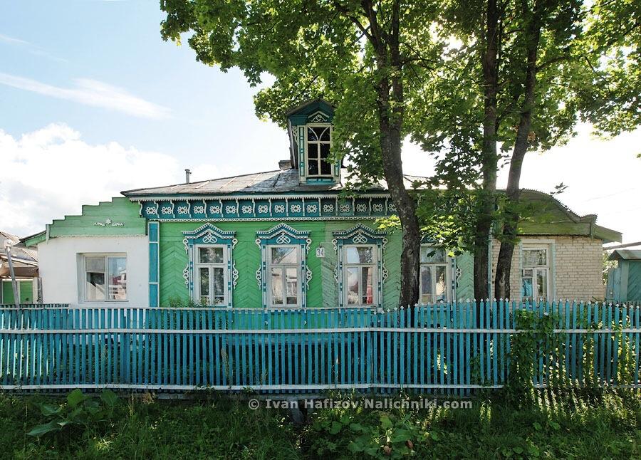 Красивый деревянный дом из Гуся Хрустального