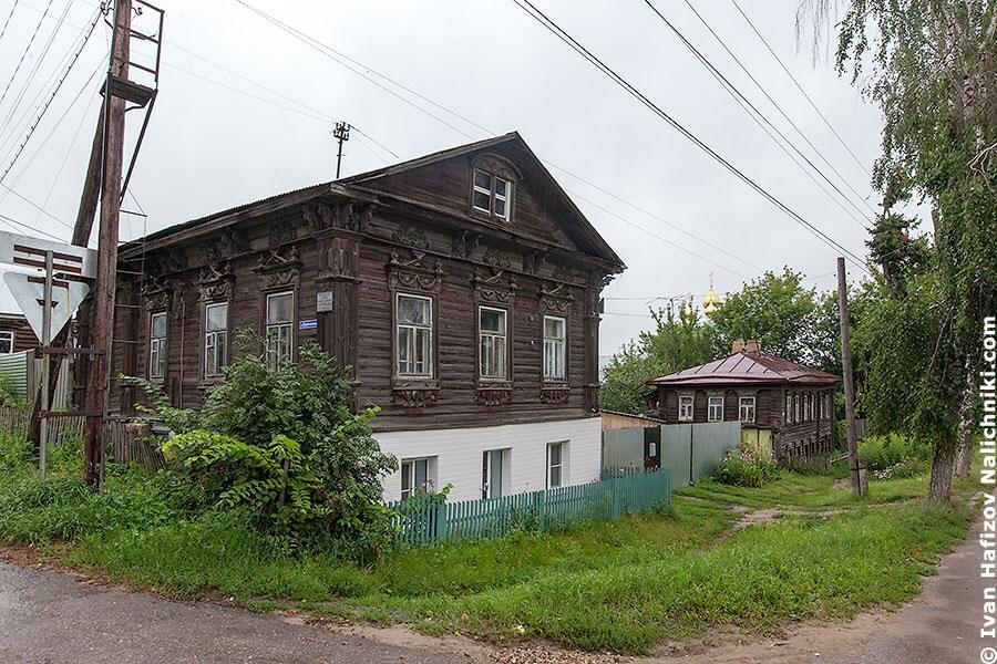 Деревянные дома в Павлово Нижегородской области