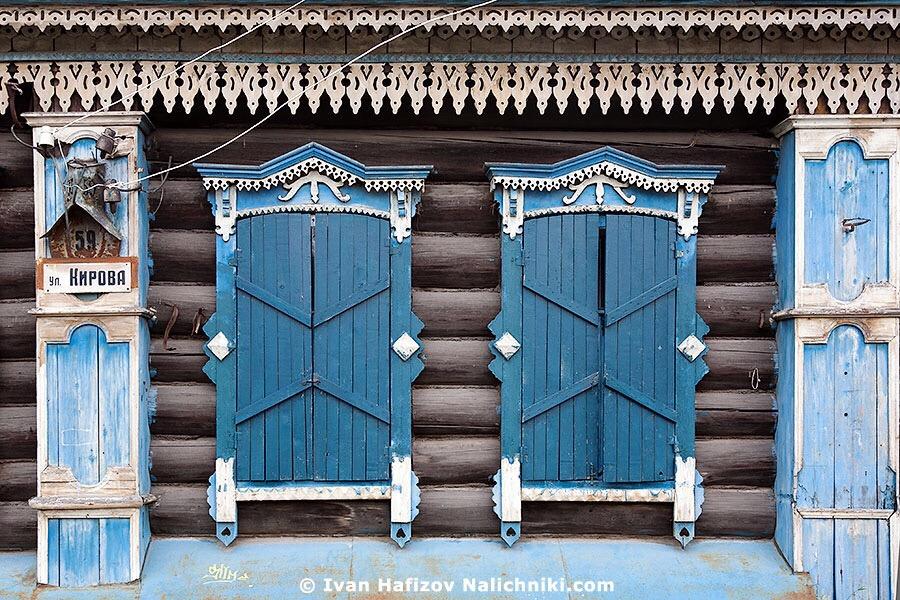 резные деревянные наличники из Екатеринбурга