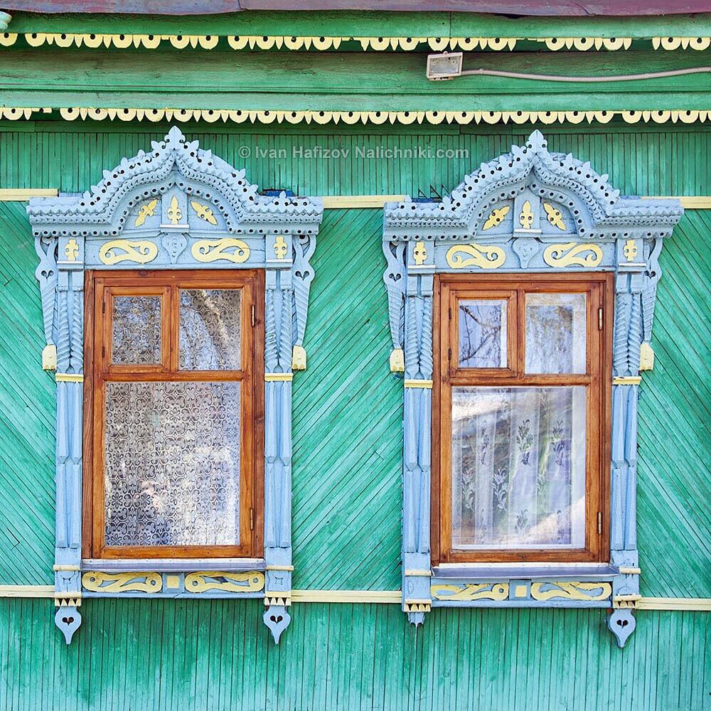 Пара наличников из Коврова Владимирской области