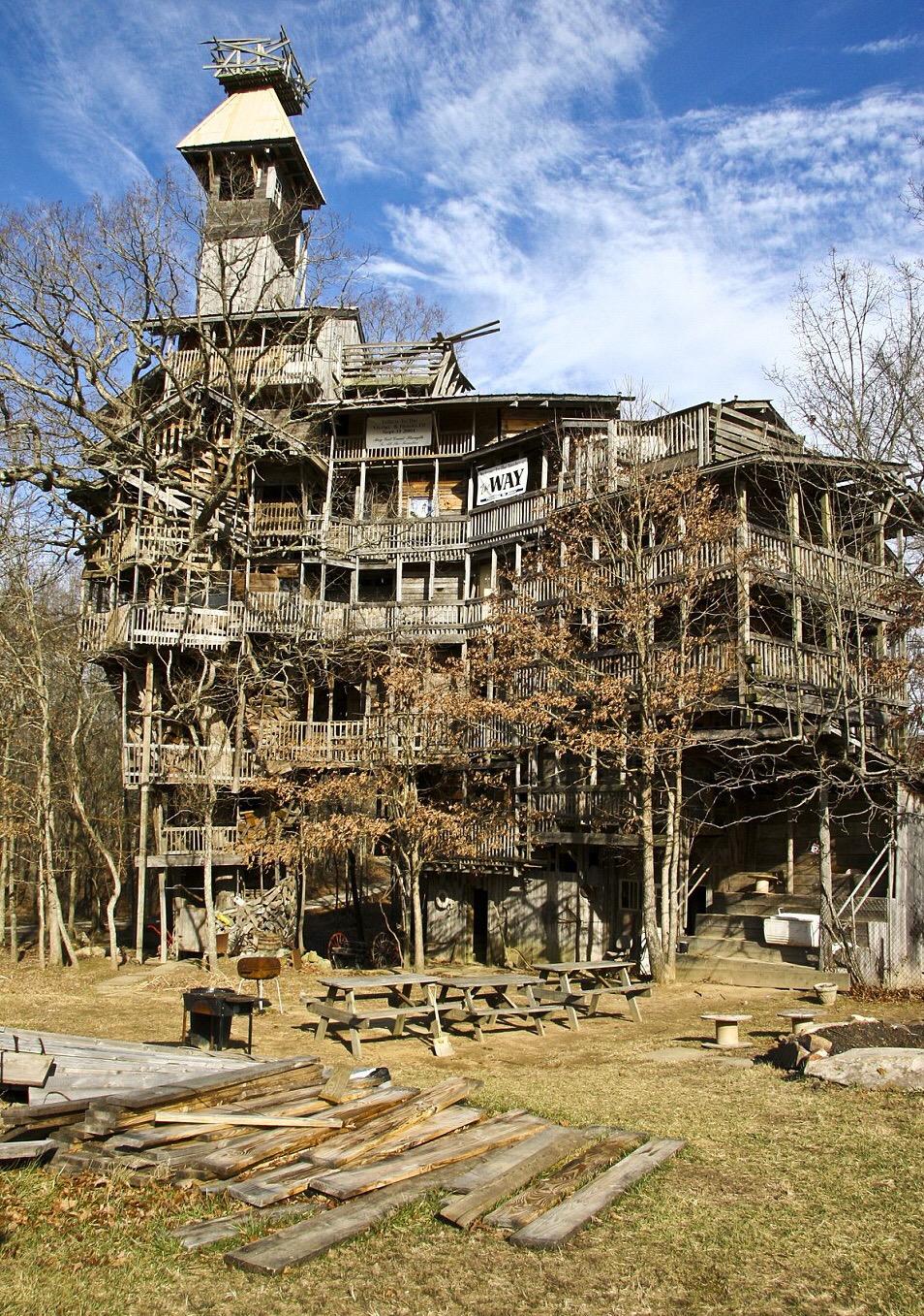 деревянный дом Горация Берджеса в Кроссвиле, Теннеси