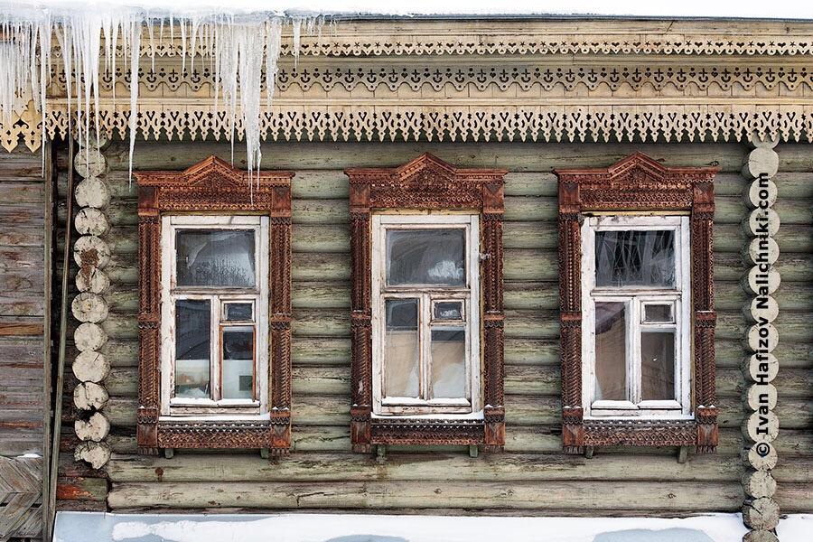 Замороженные наличники Екатеринбурга