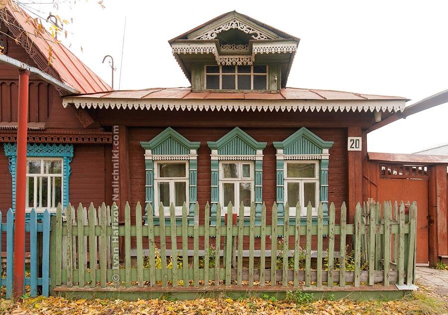 милейший деревянный домик из Иванова