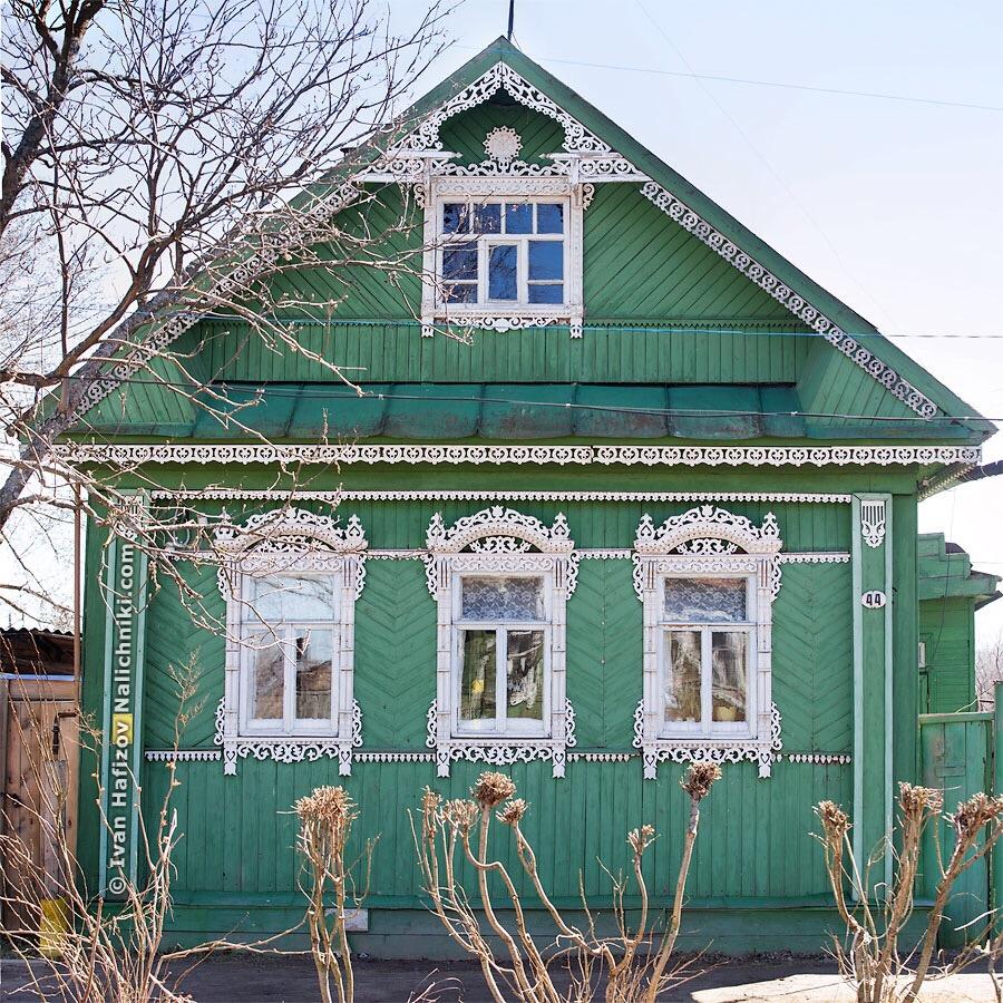 резной дом из Тутаева Ярославской области