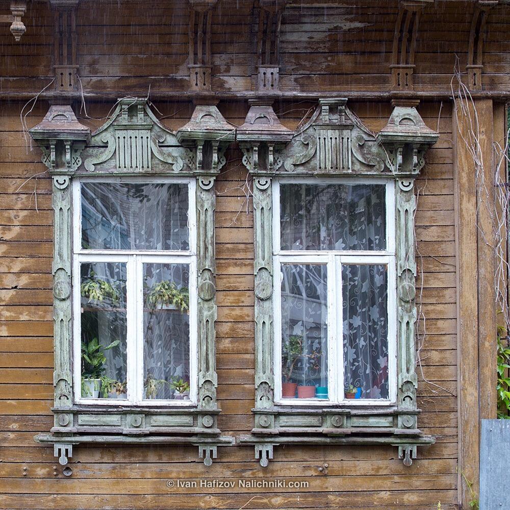 Резные наличники из Павлова-на-Оке