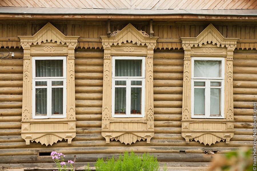 резные наличники из поселка Борисоглебский Ярославской области