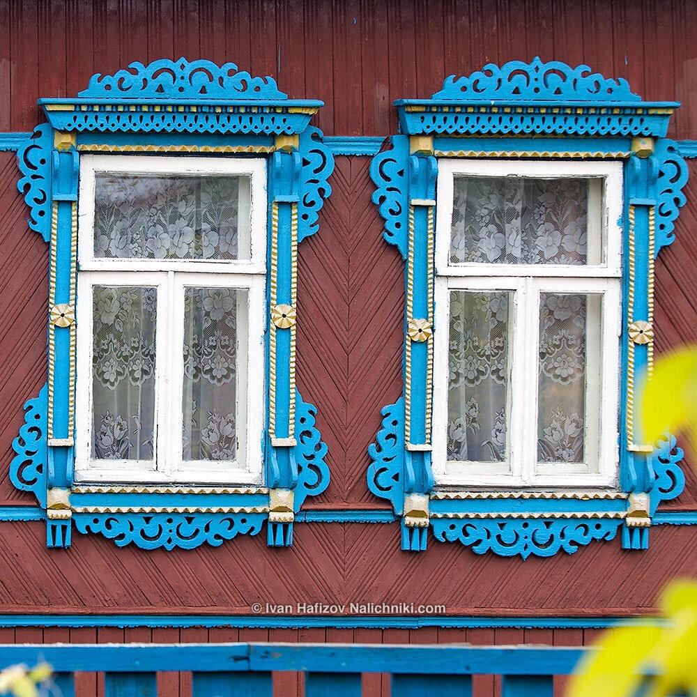 Оконные наличники в Ивановской области