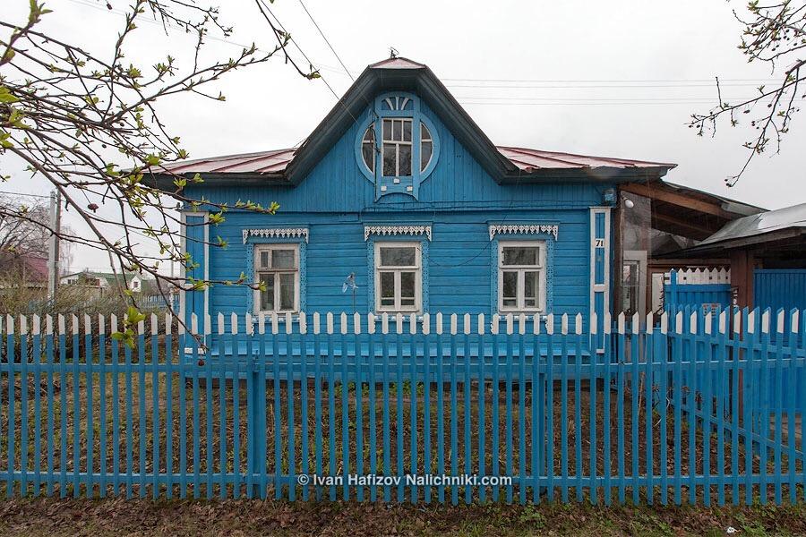 Ярославский деревянный модерн во всей красе!