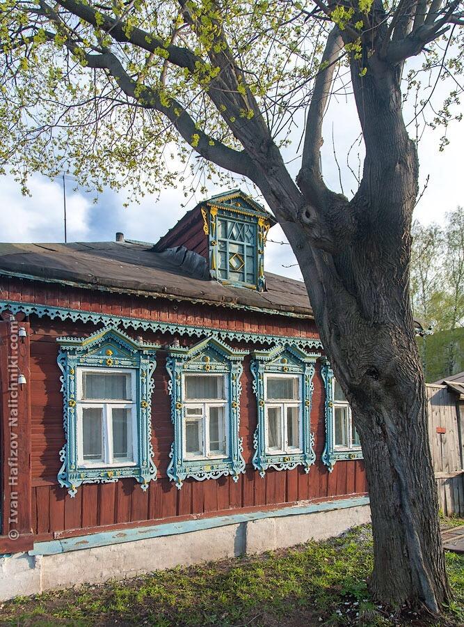 прекрасный образец деревянного зодчества во Владимирской области
