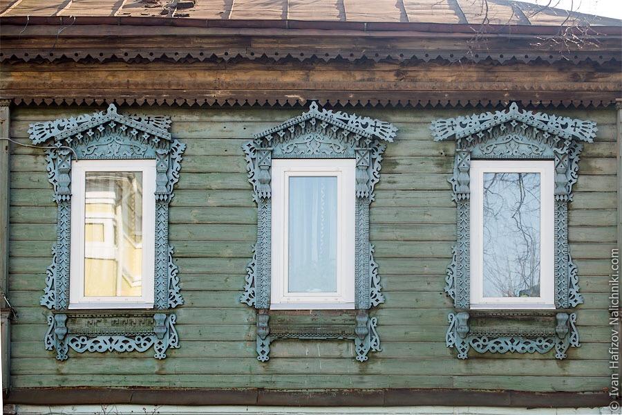 удивительные резные наличники во Владимире