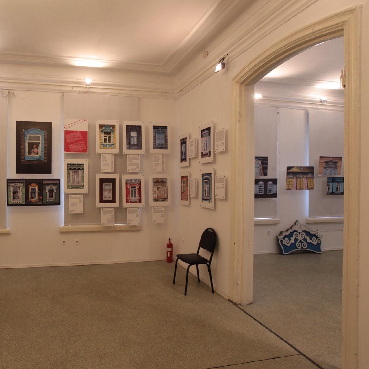 выставка музея резных наличников в Улан-Удэ