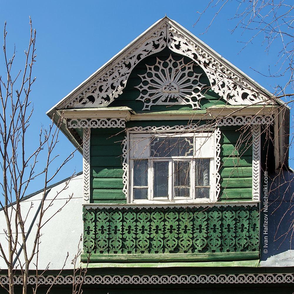 Дом с мезонином. Пошехонье, Ярославская область.