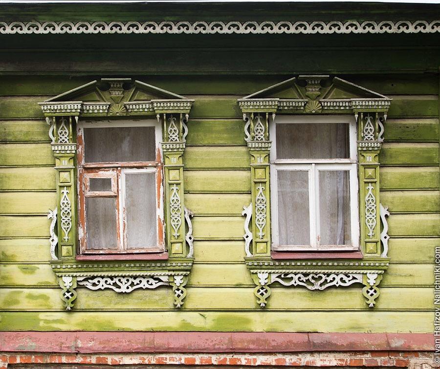 Резные окна Суздаля
