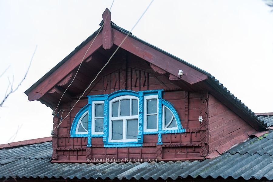 деревянный мезонин в стиле модерн