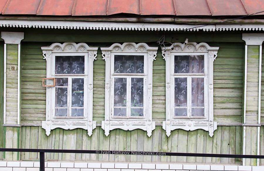 деревянные оконные наличники