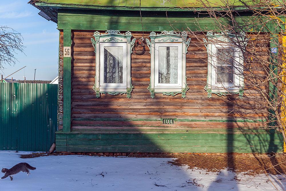 резные наличники в селе Ведном Тверской области