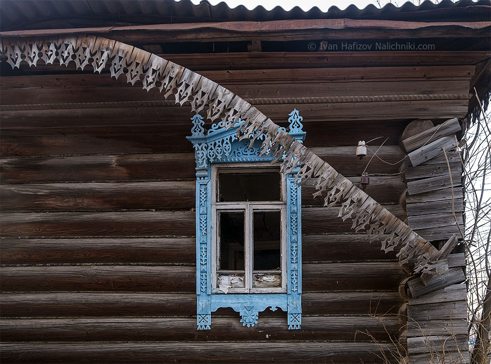 Домовая резьба Костромской области